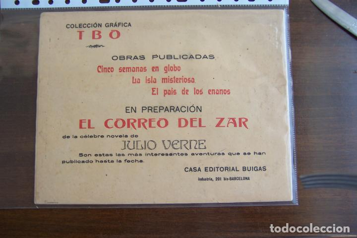 Tebeos: BUIGAS,- COLECCIÓN GRÁFICA TBO Nº 3 EL PAÍS DE LOS ENANOS - Foto 2 - 205099105