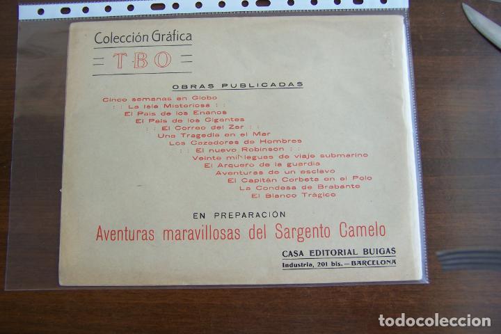 Tebeos: BUIGAS,- COLECCIÓN GRÁFICA TBO Nº 14 EL BLANCO TRÁGICO - Foto 2 - 205099365
