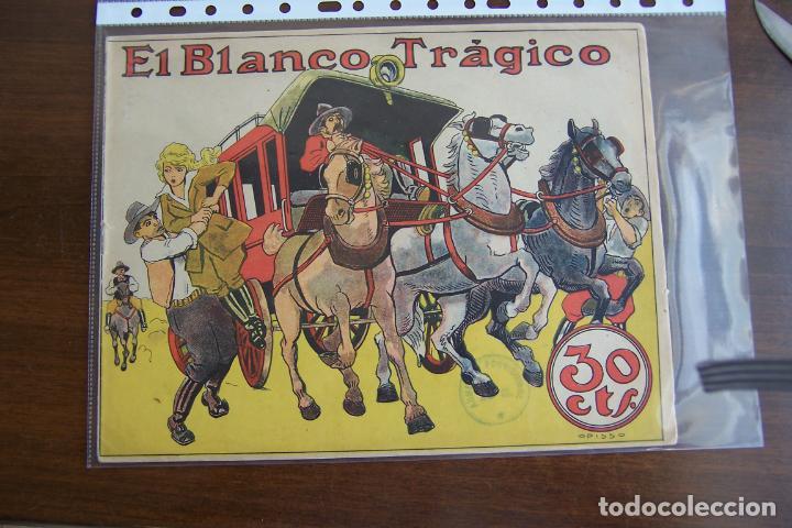 BUIGAS,- COLECCIÓN GRÁFICA TBO Nº 14 EL BLANCO TRÁGICO (Tebeos y Comics - Buigas - Otros)
