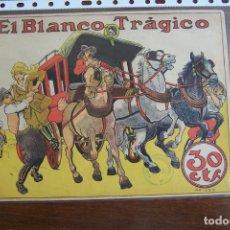 Tebeos: BUIGAS,- COLECCIÓN GRÁFICA TBO Nº 14 EL BLANCO TRÁGICO. Lote 205099365