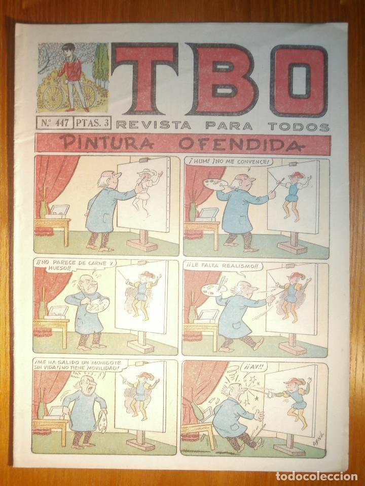 TEBEO - TBO - Nº 447 - BUIGAS - 20 DE MAYO DE 1966 - PINTURA OFENDIDA (Tebeos y Comics - Buigas - TBO)