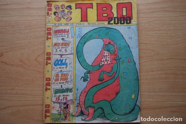 TBO 2000 N. 2276 (Tebeos y Comics - Buigas - TBO)