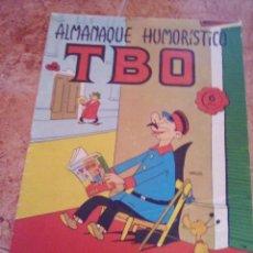Tebeos: TBO.ALMANAQUE HUMORISTICO 1966.. Lote 206870773