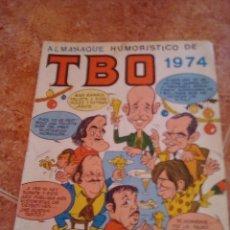 Tebeos: TBO.ALMANAQUE HUMORISTICO 1974.. Lote 206871137