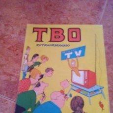 Tebeos: TBO EXTRAORDINARIO DEDICADO A LA TV. Lote 206872537