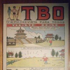 Tebeos: TEBEO - TBO - Nº 462 - BUIGAS - 2 DE SEPTIEMBRE DE 1966 - TURISTA EN CHINA. Lote 207123462