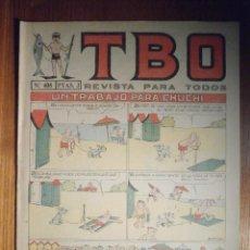 Tebeos: TEBEO - TBO - Nº 408 - BUIGAS - 20 DE AGOSTO DE 1965 - UN TRABAJO PARA CHUCHI. Lote 207124828