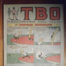 Tebeos: TEBEO - TBO - Nº 409 - BUIGAS - 27 DE AGOSTO DE 1965 - EL NAUFRAGO HAMBRIENTO. Lote 207125136
