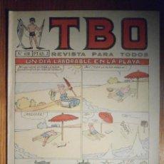 Tebeos: TEBEO - TBO - Nº 410 - BUIGAS - 3 DE SEPTIEMBRE DE 1965 - UN DÍA LABORABLE EN LA PLAYA. Lote 207125433