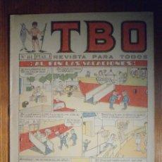 Tebeos: TEBEO - TBO - Nº 411 - BUIGAS - 10 DE SEPTIEMBRE DE 1965 - ¡ AL FIN LAS VACACIONES !. Lote 207125762