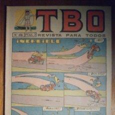 Tebeos: TEBEO - TBO - Nº 456 - BUIGAS - 22 DE JULIO DE 1966 - INCREIBLE. Lote 207125932