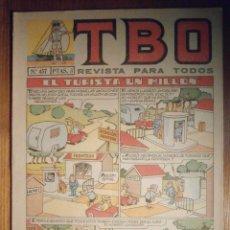 Tebeos: TEBEO - TBO - Nº 457 - BUIGAS - 29 DE JULIO DE 1966 - INCREIBLE. Lote 207126060