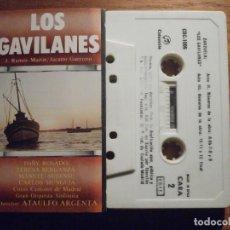 Tebeos: CINTA DE CASSETTE - ZARZUELA; LOS GAVILANES - J. RAMOS MARTÍN, JACINTO GUERRERO - COLUMBIA 1981. Lote 207128610