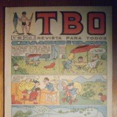 Tebeos: TEBEO - TBO - Nº 460 - BUIGAS - 19 DE AGOSTO DE 1966 - COMODIDAD. Lote 207130178
