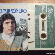 Tebeos: CINTA DE CASSETTE - EL TURRONERO - ANDALUCÍA - GUITARRA; PACO CEPERO - OLIVO 1980. Lote 207130800