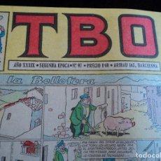 Tebeos: TBO AÑO XXXIX SEGUNDA EPOCA Nº 97 VISIONES DE HOLLYWOOD PETER USTINOV. Lote 207187891
