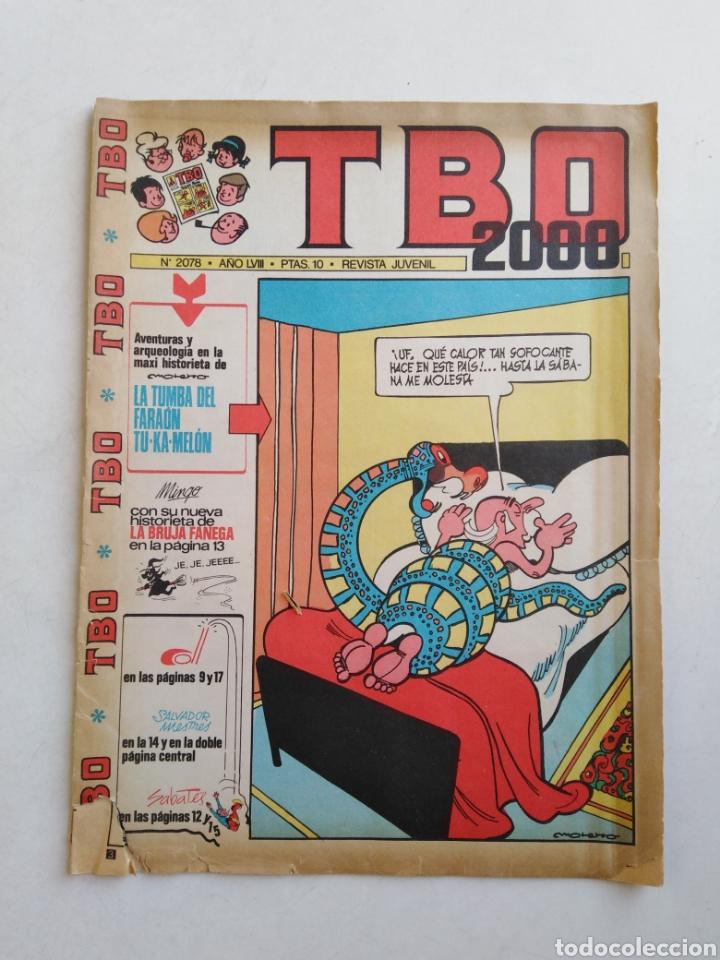 Tebeos: Lote de 10 cómic tbo - Foto 2 - 207849540