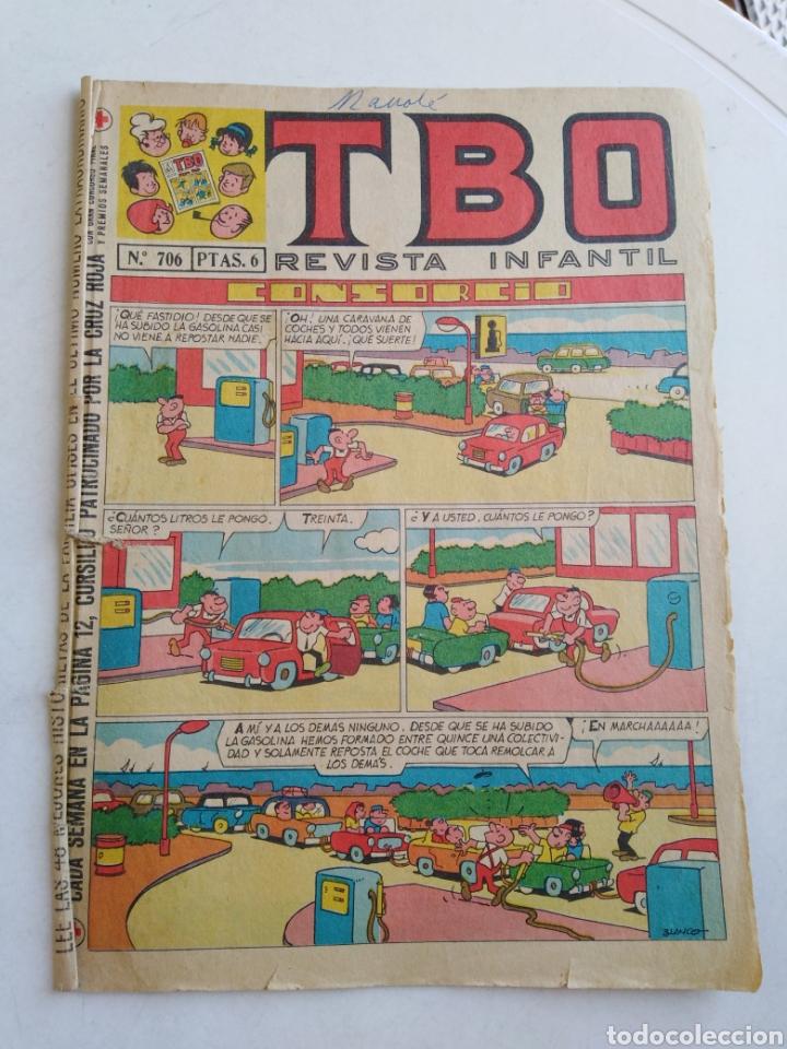 Tebeos: Lote de 10 cómic tbo - Foto 8 - 207849540