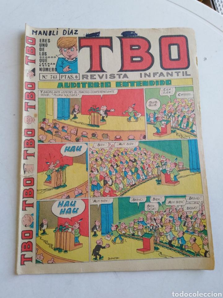 Tebeos: Lote de 10 cómic tbo - Foto 12 - 207849540