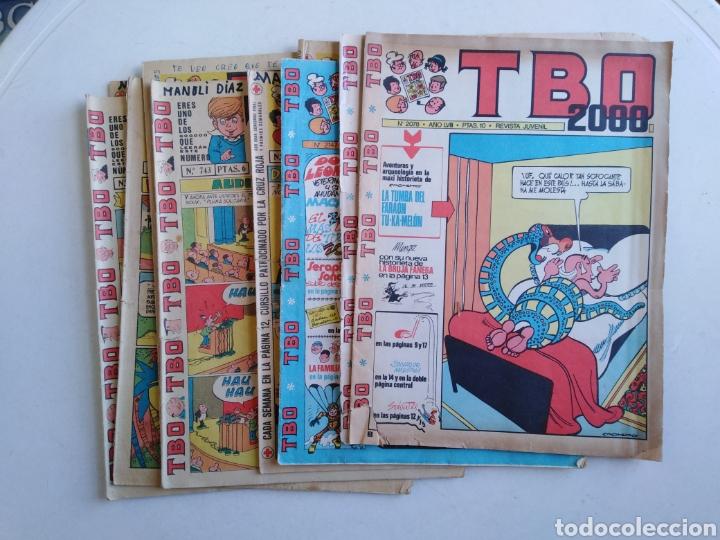 LOTE DE 10 CÓMIC TBO (Tebeos y Comics - Buigas - TBO)