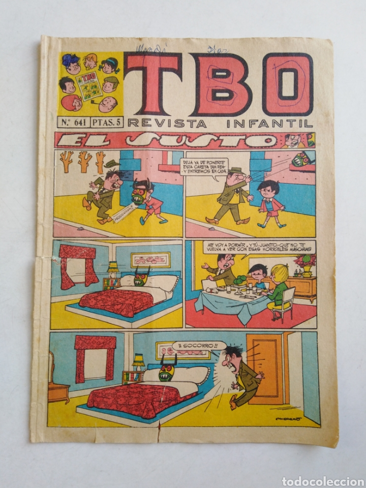 Tebeos: Lote de 10 cómic tbo - Foto 2 - 207850866