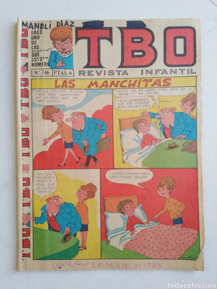 Tebeos: Lote de 10 cómic tbo - Foto 6 - 207850866