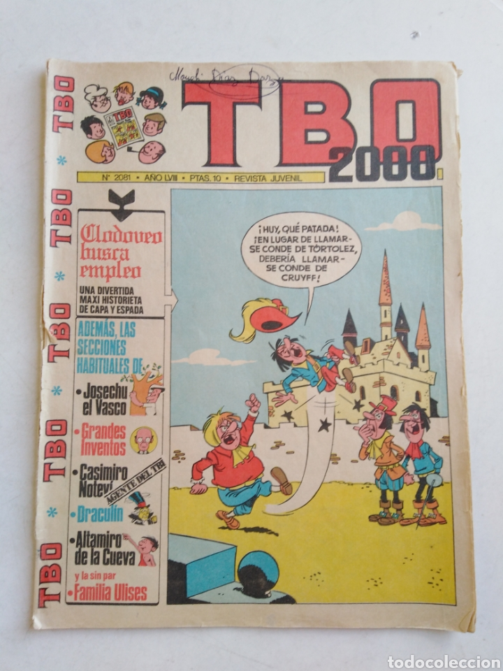 Tebeos: Lote de 10 cómic tbo - Foto 14 - 207850866