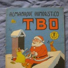 Livros de Banda Desenhada: ALMANAQUE HUMORISTICO DE TBO. 1968.. Lote 208827888