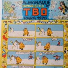 Tebeos: ALMANAQUE HUMORÍSTICO DE TBO PARA 1976. Lote 208954820