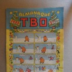 Livros de Banda Desenhada: TBO - ALMANAQUE 1958 EDITORIAL BUIGAS CON RECORTABLE DEL BELEN. Lote 209056975