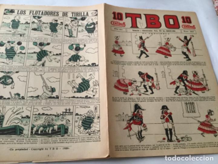 TBO- 10 CTS.- AÑO XII - 1928- NUM. 587 (Tebeos y Comics - Buigas - TBO)
