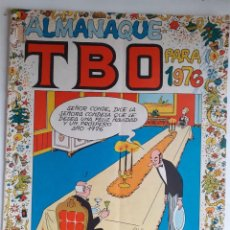 Tebeos: TBO-ALMANAQUE PARA 1976- CON SUS GRANDES FIRMAS-1975-CORRECTO-MUY DIFÍCIL-LEAN- 3827. Lote 210839875
