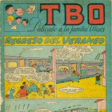 Tebeos: TBO LOTE COMPLETO DE LOS SIETE ALBUMES DE LA FAMILIA ULISES. Lote 210844041