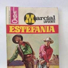 Tebeos: MARCIAL LAFUENTE ESTEFANIA. NOVELA OESTE. SERIE HOMBRES DEL OESTE. 728 JUSTO CASTIGO. Lote 211702423