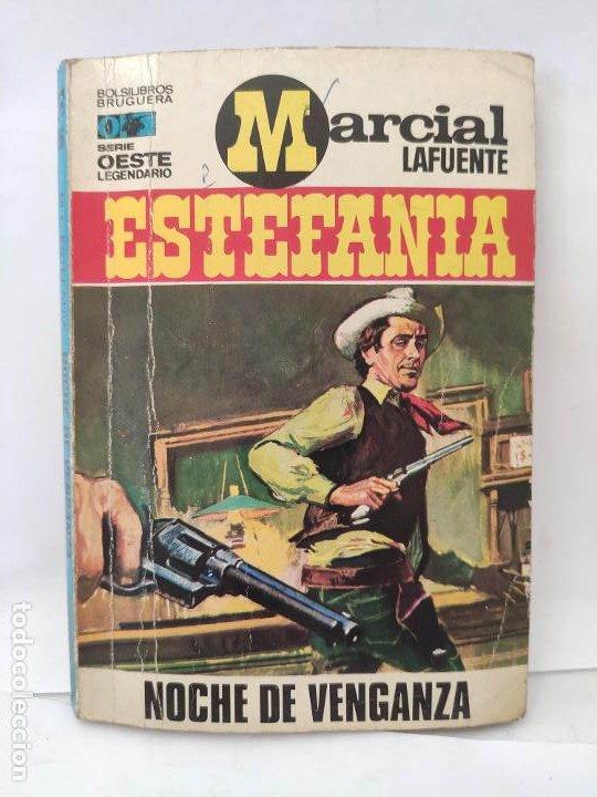 MARCIAL LAFUENTE ESTEFANIA. NOVELA OESTE. SERIE OESTE LEGENDARIO 196 NOCHE DE VENGANZA (Tebeos y Comics - Buigas - Otros)