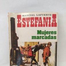 Tebeos: MARCIAL LAFUENTE ESTEFANIA. NOVELA OESTE. SERIE CARAVANA MUJERES MARCADAS. Lote 211702508