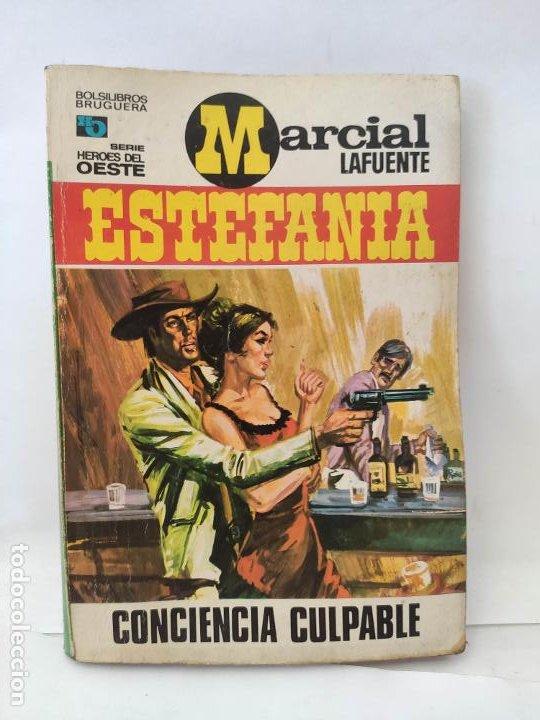 MARCIAL LAFUENTE ESTEFANIA. NOVELA OESTE. SERIE HOMBRES DEL OESTE. 653 CONCIENCIA CULPABLE (Tebeos y Comics - Buigas - Otros)