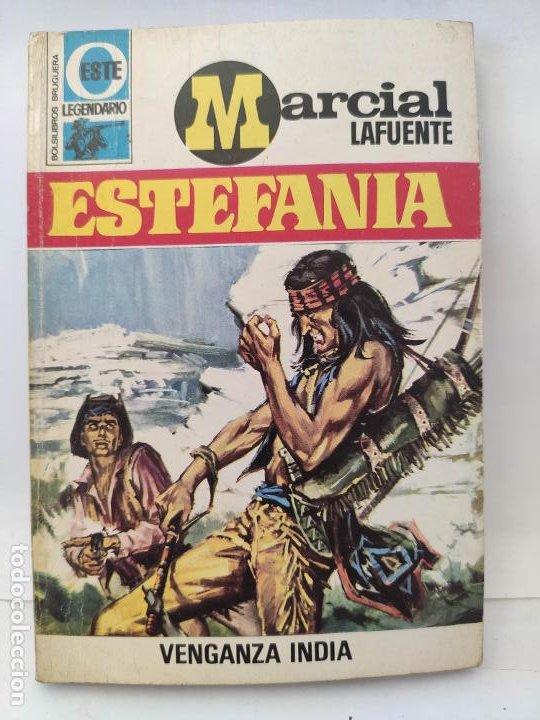 MARCIAL LAFUENTE ESTEFANIA. NOVELA OESTE. SERIE LEGENDARIO 259 VENGANZA INDIA (Tebeos y Comics - Buigas - Otros)