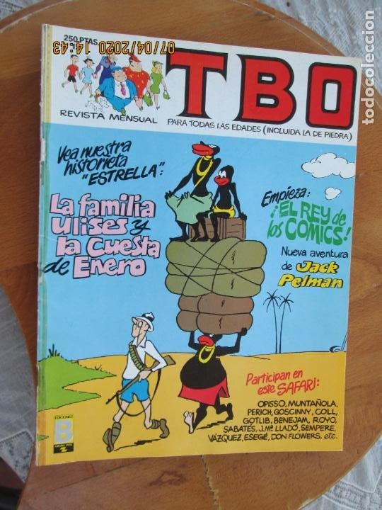 T B O , Nº 12 REVISTA MENSUAL EDICIONES B -1988 (Tebeos y Comics - Buigas - TBO)