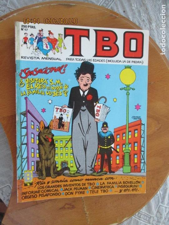 T B O , Nº 17 REVISTA MENSUAL EDICIONES B -1988 (Tebeos y Comics - Buigas - TBO)