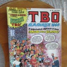 Tebeos: T B O , Nº 59 REVISTA MENSUAL EDICIONES B -1993-ALMANAQUE 1993. Lote 212023790