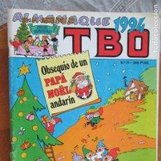 Tebeos: T B O , Nº 71 REVISTA MENSUAL EDICIONES B -1983- ALMANAQUE 1994. Lote 212024516