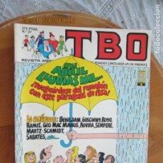 Tebeos: T B O , Nº 27 REVISTA MENSUAL EDICIONES B -1988. Lote 212024647