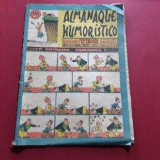 Tebeos: ALMANAQUE HUMORÍSTICO - EDICIONES TBO 1958. Lote 212673752