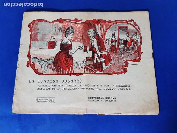 LA CONDESA DUBARRY - EDITORIAL BUIGAS-TBO-1921-DONAZ (Tebeos y Comics - Buigas - TBO)