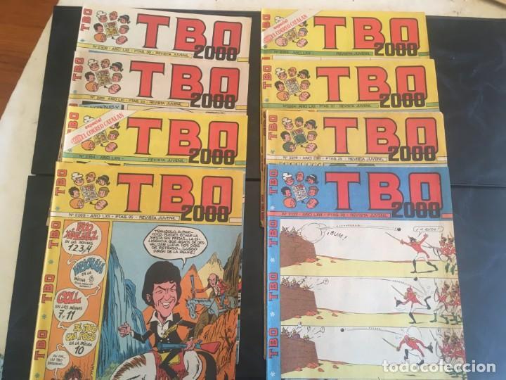 COMIC TBO 2000 AÑO LXI -LXII - LXIII -Nº 2251 -2264 -2269 -2274 -2308 - 2322 -2350 -2354 (Tebeos y Comics - Buigas - TBO)