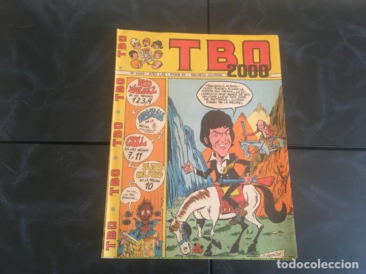 Tebeos: comic TBO 2000 año LXI -LXII - LXIII -Nº 2251 -2264 -2269 -2274 -2308 - 2322 -2350 -2354 - Foto 3 - 212915271