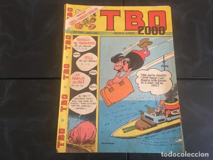 Tebeos: comic TBO 2000 año LXI -LXII - LXIII -Nº 2251 -2264 -2269 -2274 -2308 - 2322 -2350 -2354 - Foto 4 - 212915271