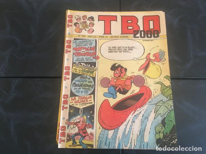 Tebeos: comic TBO 2000 año LXI -LXII - LXIII -Nº 2251 -2264 -2269 -2274 -2308 - 2322 -2350 -2354 - Foto 5 - 212915271