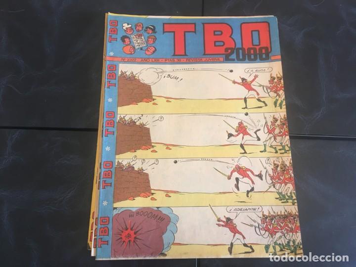 Tebeos: comic TBO 2000 año LXI -LXII - LXIII -Nº 2251 -2264 -2269 -2274 -2308 - 2322 -2350 -2354 - Foto 6 - 212915271